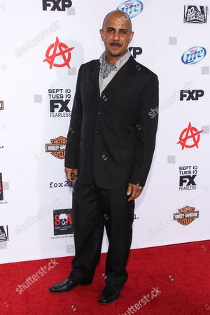 """Actor Anthony Azizi arrives at the season 6 premiere screening of """"Sons of Anarchy"""" at the Dolby Theatre on in Los Angeles"""