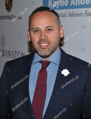 George Esquivel arrives at the Second Annual Baby2Baby Gala honoring Drew Barrymore, on in Culver City, Calif