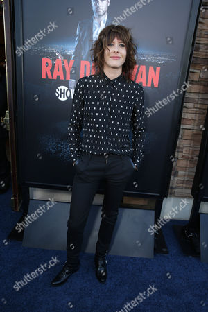 Kate Moennig pictured at SHOWTIME and Time Warner Cable 'Ray Donovan' Season 2 premiere on Wednesday, July 9 at Regal Malibu Twin Theater in Malibu, Calif