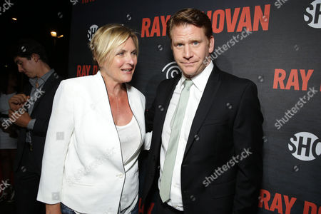 Editorial photo of SHOWTIME and Time Warner Cable 'Ray Donovan' Season 2 premiere, Malibu, USA