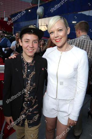 Ethan Cutkosky and Emily Bergl seen at Showtime's Annual Summer Soiree at 2014 TCA at the Pacific Design Center, in Los Angeles
