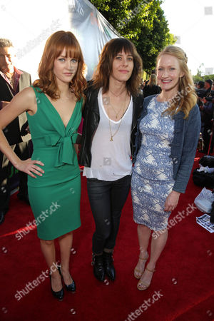 Ambyr Childers, Kate Moennig and Paula Malcomson seen at Showtime's Annual Summer Soiree at 2014 TCA at the Pacific Design Center, in Los Angeles