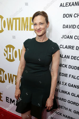 Joan Cusack seen at Showtime's Emmy Eve 2015 at Sunset Tower Hotel, in Los Angeles, CA