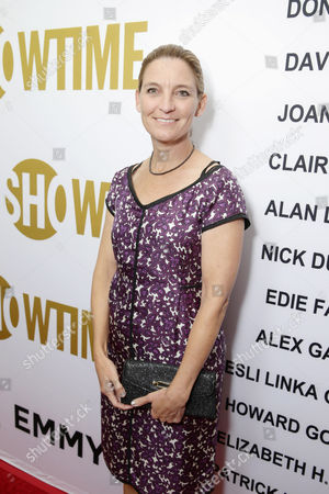 Meredith Stiehm seen at Showtime's Emmy Eve 2015 at Sunset Tower Hotel, in Los Angeles, CA