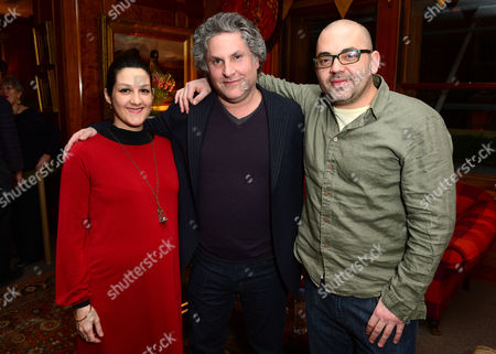 Greg Jacobs and colleagues are seen at the Steven Soderbergh thriller SIDE EFFECTS, hosted by Jude Law at the Covent Garden Hotel. Side Effects is released on March 8th.. in London