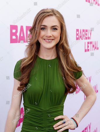 Stock Image of Emma Holzer seen at a Special Screening of 'Barely Lethal', in Los Angeles, CA