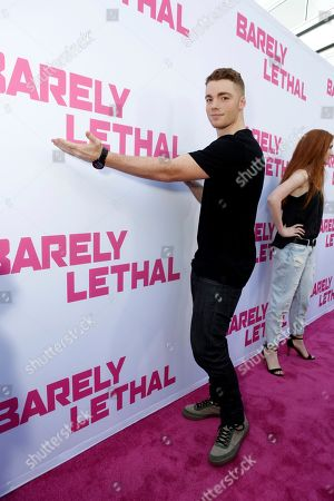 Gabriel Basso seen at a Special Screening of 'Barely Lethal', in Los Angeles, CA