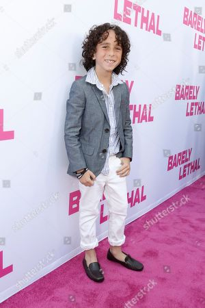 Jason Ian Drucker seen at a Special Screening of 'Barely Lethal', in Los Angeles, CA