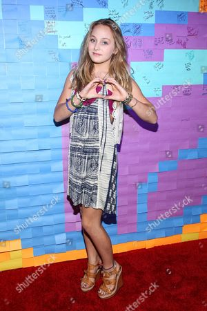 Actress Ellery Sprayberry attends the Staples for Students Give-Back at the Saddle Ranch Chop House on in Universal City, Calif