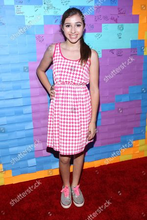 Actress Victoria Strauss attends the Staples for Students Give-Back at the Saddle Ranch Chop House on in Universal City, Calif