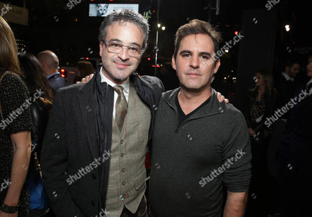 Producer Alex Kurtzman and Producer Bob Orci seen at Summit Entertainment's Los Angeles Premiere of 'Ender's Game', on Monday, Oct, 28, 2013 in Los Angeles