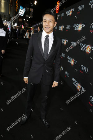 Brandon Soo Hoo seen at Summit Entertainment's Los Angeles Premiere of 'Ender's Game', on Monday, Oct, 28, 2013 in Los Angeles