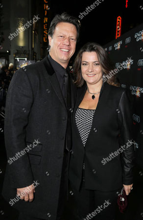 Director Gavin Hood and Janine Eser seen at Summit Entertainment's Los Angeles Premiere of 'Ender's Game', on Monday, Oct, 28, 2013 in Los Angeles