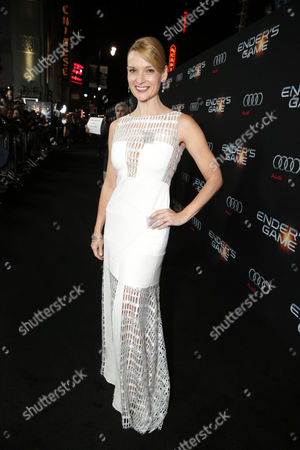 Andrea Powell seen at Summit Entertainment's Los Angeles Premiere of 'Ender's Game', on Monday, Oct, 28, 2013 in Los Angeles