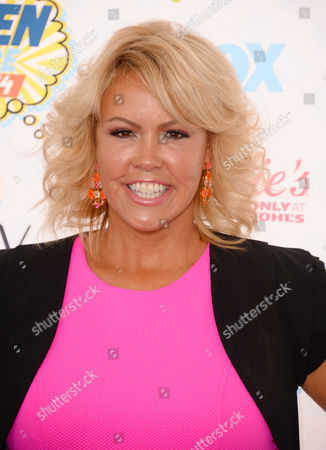 Mary Murphy arrives at the Teen Choice Awards at the Shrine Auditorium, in Los Angeles