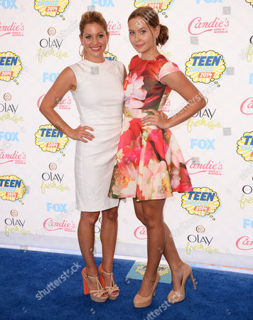 Editorial image of Teen Choice Awards 2014 - Arrivals, Los Angeles, USA