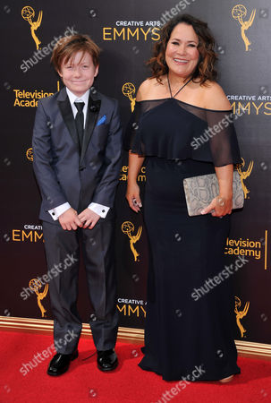 Editorial picture of Television Academy's 2016 Creative Arts Emmy Awards - Arrivals - Night Two, Los Angeles, USA
