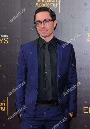 James Pearse Connelly arrives at night two of the Television Academy's 2016 Creative Arts Emmy Awards at the Microsoft Theater on in Los Angeles