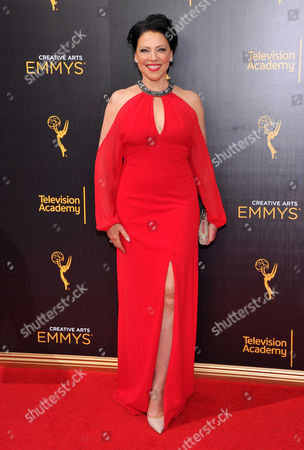 Kathleen Gati arrives at night two of the Television Academy's 2016 Creative Arts Emmy Awards at the Microsoft Theater on in Los Angeles