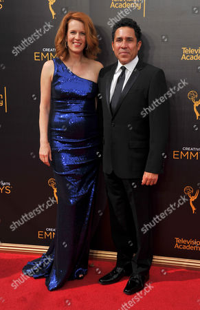 Editorial photo of Television Academy's 2016 Creative Arts Emmy Awards - Arrivals - Night Two, Los Angeles, USA