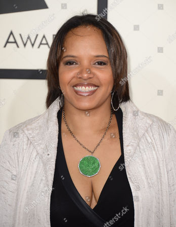 Stock Photo of Terri Lyne Carrington arrives at the 56th annual GRAMMY Awards at Staples Center, in Los Angeles