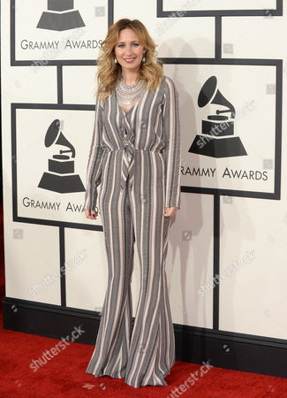Editorial photo of The 56th Annual GRAMMY Awards - Arrivals, Los Angeles, USA