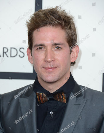 Eric Szmanda arrives at the 56th annual GRAMMY Awards at Staples Center, in Los Angeles