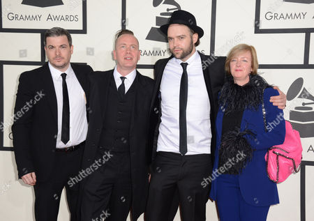 Photo éditoriale de The 56th Annual GRAMMY Awards - Arrivals, Los Angeles, USA