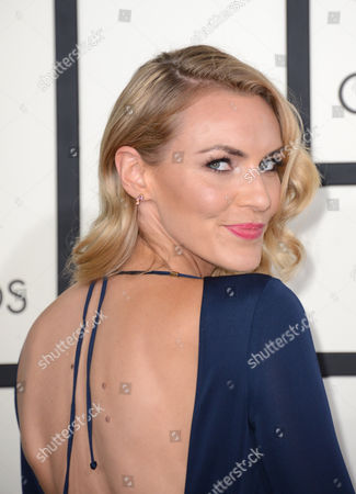 Stock Image of Holly Ridings arrives at the 56th annual GRAMMY Awards at Staples Center, in Los Angeles
