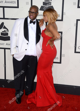 Editorial picture of The 56th Annual GRAMMY Awards - Arrivals, Los Angeles, USA