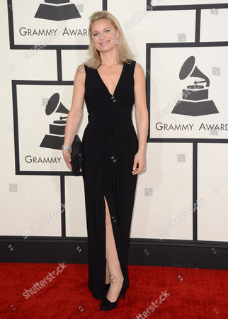 Stock Photo of Anna Einarsson arrives at the 56th annual GRAMMY Awards at Staples Center, in Los Angeles