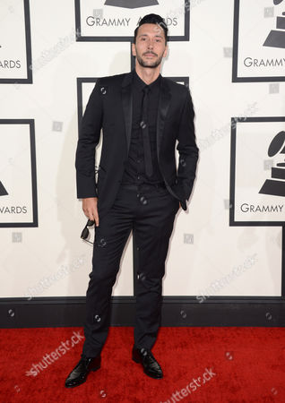 Cedric Gervais arrives at the 56th annual GRAMMY Awards at Staples Center, in Los Angeles