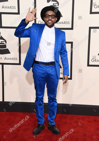 Editorial photo of The 57th Annual Grammy Awards - Arrivals, Los Angeles, USA