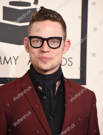 Stock Photo of Jarle Bernhoft arrives at the 57th annual Grammy Awards at the Staples Center, in Los Angeles