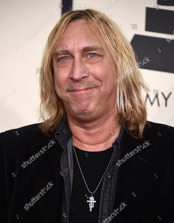 Paul Nelson arrives at the 57th annual Grammy Awards at the Staples Center, in Los Angeles
