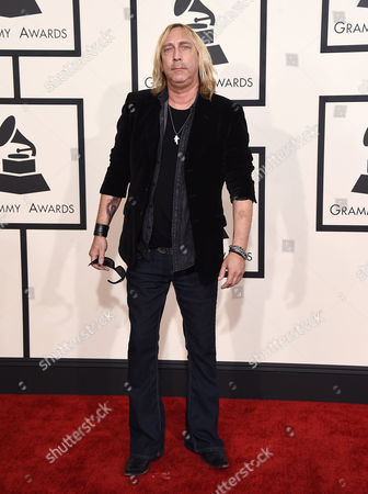 Stock Picture of Paul Nelson arrives at the 57th annual Grammy Awards at the Staples Center, in Los Angeles