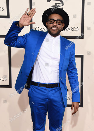 Editorial picture of The 57th Annual Grammy Awards - Arrivals, Los Angeles, USA