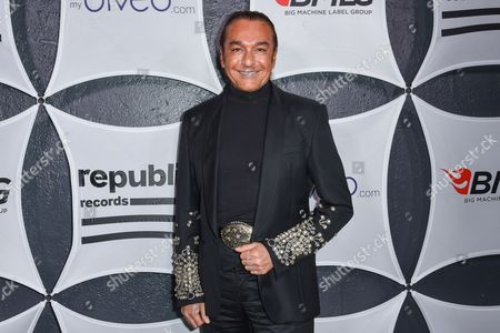 Nick Chavez arrives at Republic Records & Big Machine Label Group Private Celebration After Party at The Warwick, in Los Angeles