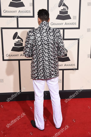 Editorial image of The 58th Annual Grammy Awards - Arrivals, Los Angeles, USA