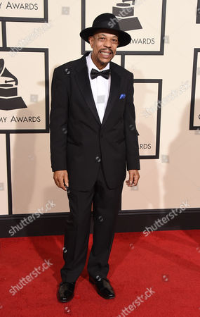 John Primer arrives at the 58th annual GRAMMY Awards at the Staples Center, in Los Angeles