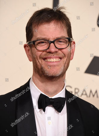Donny McCaslin arrives at the 58th annual GRAMMY Awards at the Staples Center, in Los Angeles