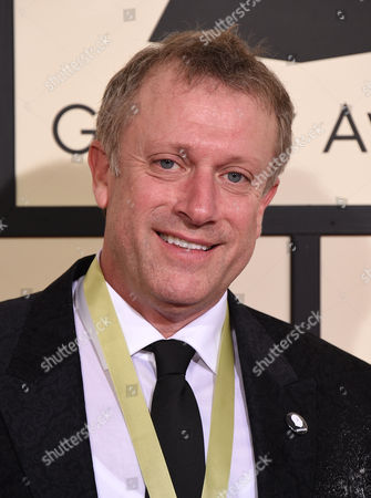 Charles Bruffy arrives at the 58th annual Grammy Awards at the Staples Center, in Los Angeles