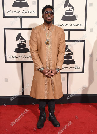 Flying Lotus arrives at the 58th annual Grammy Awards at the Staples Center, in Los Angeles