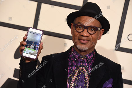 Kirk Whalum arrives at the 58th annual Grammy Awards at the Staples Center, in Los Angeles