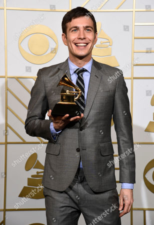 Editorial image of The 58th Annual Grammy Awards - Press Room, Los Angeles, USA