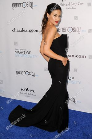 Stock Image of Rose Costa arrives at The 6th Annual Night Of Generosity Benefit, in Beverly Hills, Calif