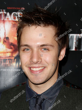 """Matthew Fahey attends """"The Cottage"""" premiere at The Academy of Motion Pictures Arts and Sciences, in Beverly Hills, Calif"""