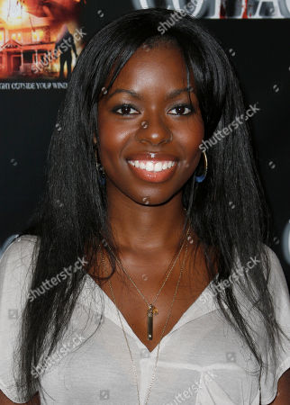 "Camille Winbush attends ""The Cottage"" premiere at The Academy of Motion Pictures Arts and Sciences, in Beverly Hills, Calif"
