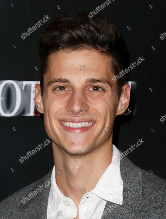 """Ken Baumann attends """"The Cottage"""" premiere at The Academy of Motion Pictures Arts and Sciences, in Beverly Hills, Calif"""