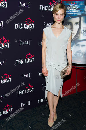 "Hannah Yelland attends a special screening of ""The East"" on in New York"
